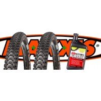 COMBO 2 Maxxis Ikon + Stans