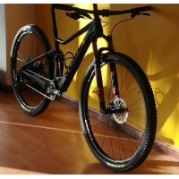 29er XC full suspension carbon frame
