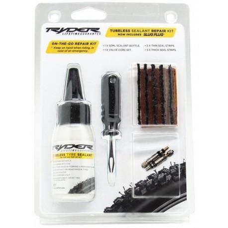 Ryder 50ml sealant & Slugplug kit & valve cores