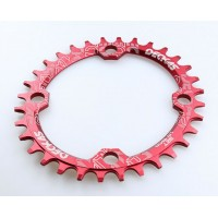 34T 104bcd round - red