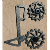 carbon cage + ceramic pulleys upgrade for Sram Eagle